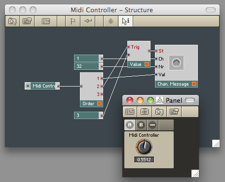 Sending MIDI CC with the Channel Message module | Reaktor Tips