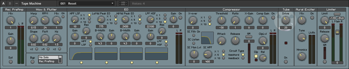 Tape Machine v5.2